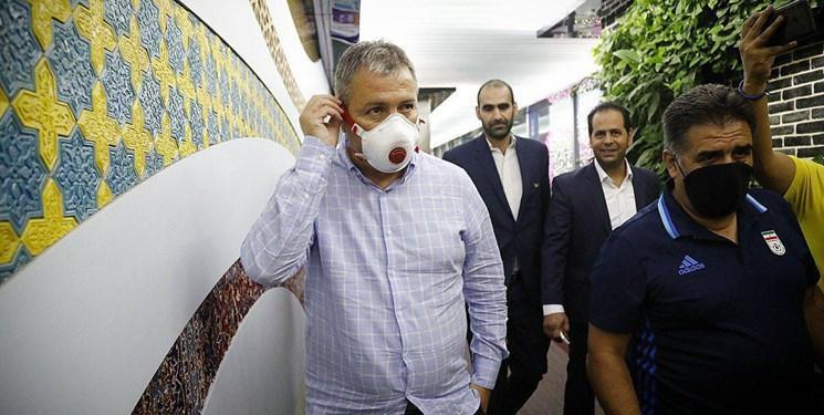 اسکوچیچ به ایران بازگشت