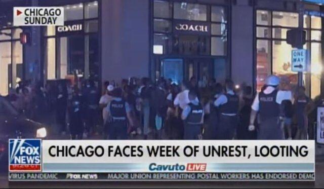 خبرنگاران اعزام یکهزار نیروی جدید به شیکاگو برای سرکوب اعتراضات