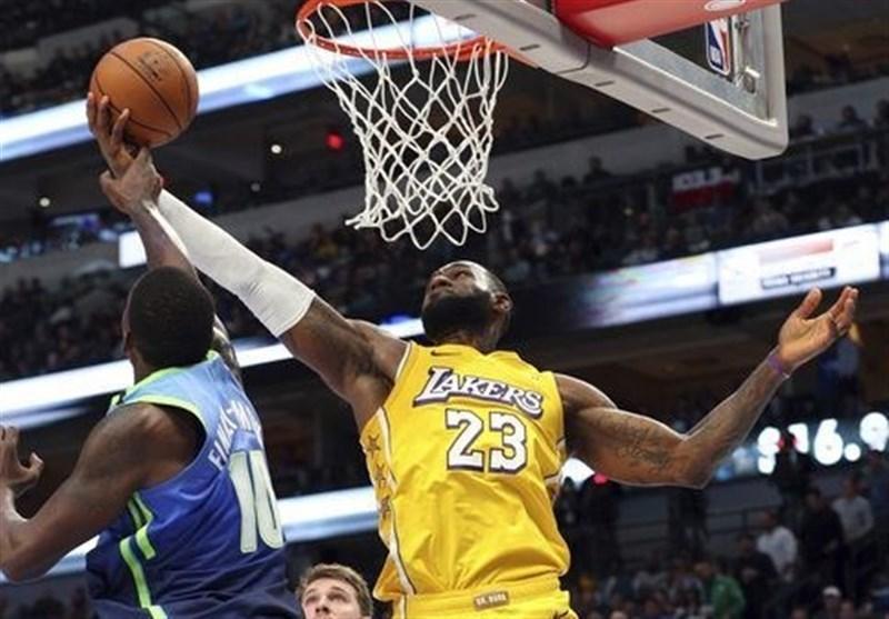 پلی آف NBA، صعود لیکرز به نیمه نهایی کنفرانس غرب پس از 8 سال
